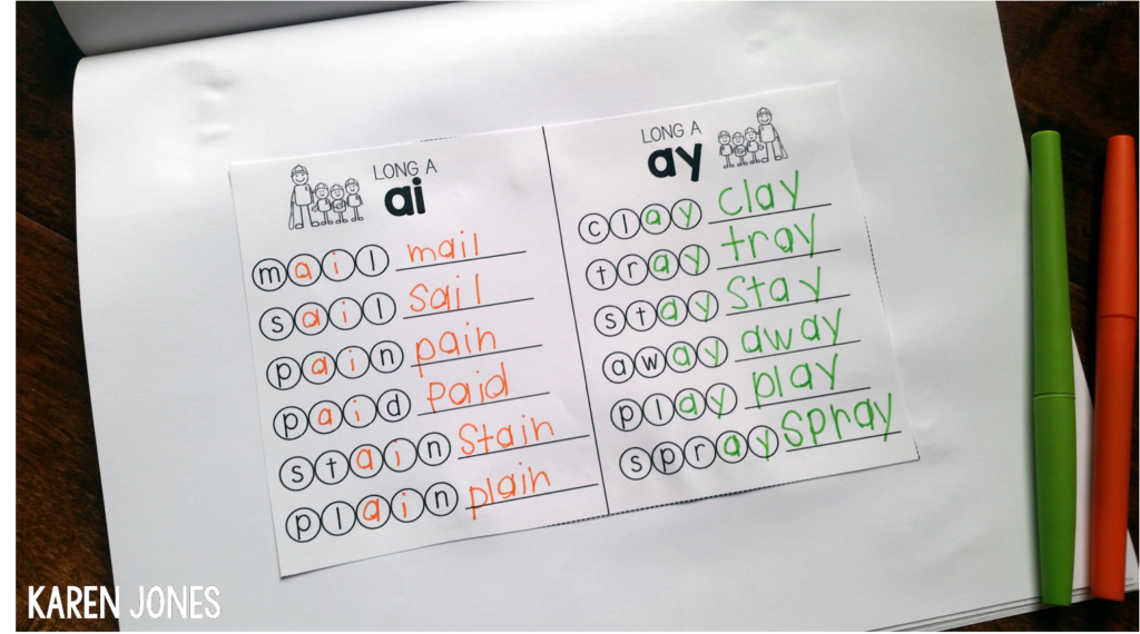 vowel teams for guided reading