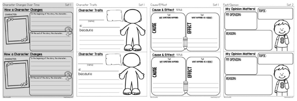 comprehension notebook